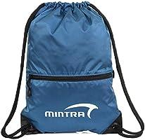 حقائب مينترا الرياضية برباط - شنطة ظهر، شنطة ضيق، رياضة (أزرق، راش (35.56 سم -xd7 45.72 سم)