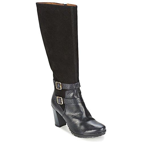 Hispanitas Arizona Stiefel Damen Schwarz - 40 - Klassische Stiefel