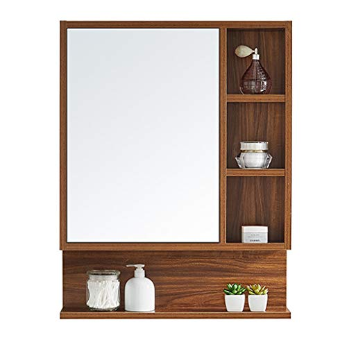 Armoires avec miroir Armoire de toilette 60-80cm armoire de toilette miroir de toilette cach/é bo/îte /à miroir murale avec /étag/ère armoire /à glace armoire de rangement murale Miroirs de salle de bain