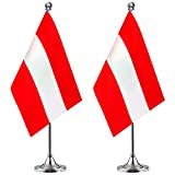 Austria Desk Flag Small Mini A...