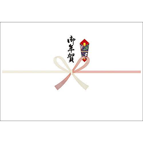 ササガワ OA対応のし紙 熨斗紙 半紙判 祝 京 御年賀 2-925 1セット 500枚:100枚×5冊
