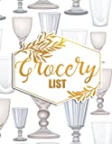 Grocery List: Pad Grocery List Note Pad For Mother's Day & Mum