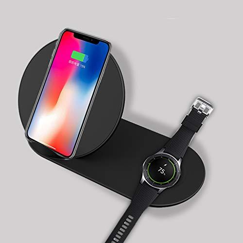 WEISHAZI 2in1 QI Wireless Charger Stand Für IPhone X XR XS MAX 8 Für Samsung S9 S8 S7 Hinweis 9 8 Galaxy Watch Gear S3 S2