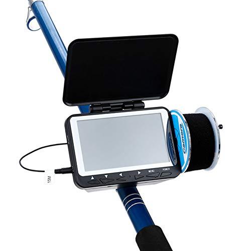 AKTET draagbare LCD-monitor met 4,3 inch (4,3 cm), waterdicht, Underwater HD 1000 TVL, viscamera, 8 infrarood leds voor ijs, meer en vissen in de boot, 15 m / 30 kabel
