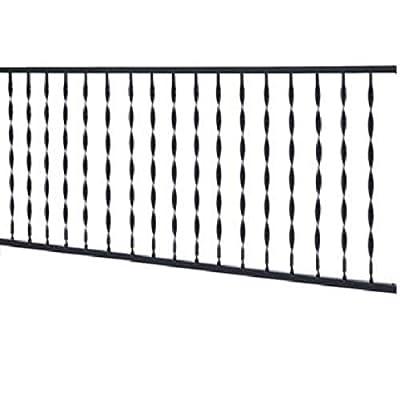 GILPIN IRONWORKS 574 decking-railings, Black
