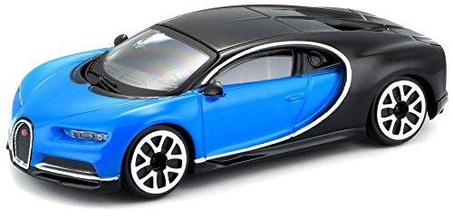 Bburago Maisto France - Bugatti Chiron - Coche en miniatura en escala 1:43 - 30348 , color/modelo surtido