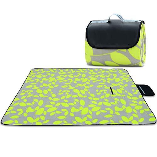ALXLX Outdoor picknickmat, matten, kruipmatten, slaapmatten, dikke suède dubbele laag. Yoga Mat, Grasmat 150×200cm