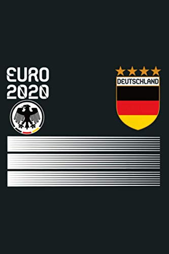Germany Football Jersey 2020 Deutschland Soccer Premium: Notebook Planner - 6x9 inch Daily Planner Journal, To Do List Notebook, Daily Organizer, 114 Pages