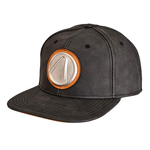 Borderlands Snapback Cap Game Metall Logo grau
