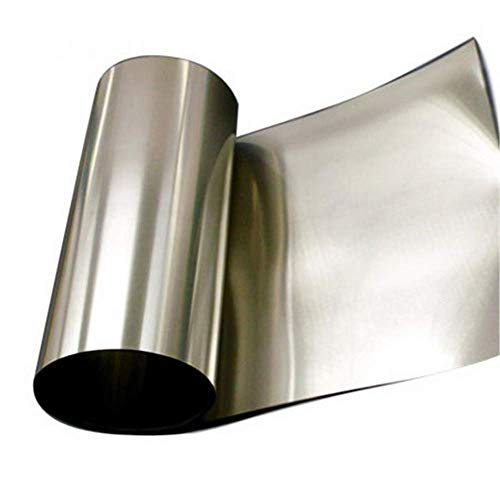 High Purity Titanium Foil, Titanium Sheet, Metal Titanium Strip for Scientific Research (0.05×100×1000mm)