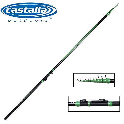 Castalia Trout Pro Tele No.4 4,1m 8-15g Tremarella Rute, Forellenrute, Angelrute zum Forellenangeln mit Tremarella Technik, Rute für Forellen, Forellenrute