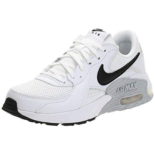 Nike Wmns Air Max EXCEE, Scarpe da Corsa Donna, White/Black-Pure Platinum, 37.5 EU