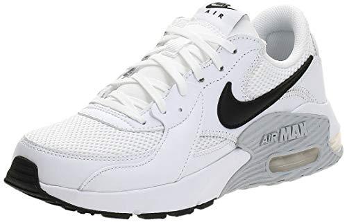 Nike Wmns Air Max EXCEE, Scarpe da Corsa Donna, White/Black-Pure Platinum, 40 EU