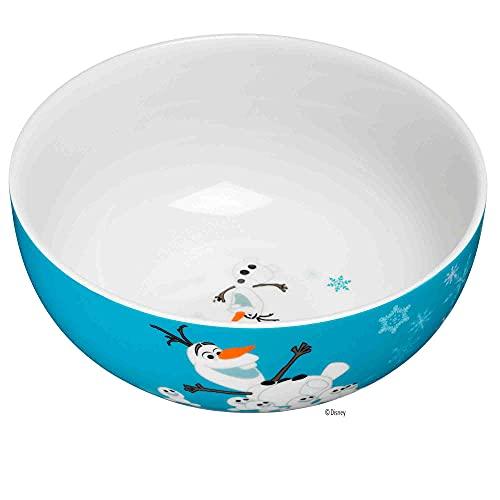 WMF Disney Frozen - Vajilla infantil (13,8 cm, porcelana, apta para lavavajillas, color y alimento)