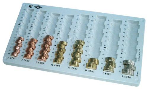 Wedo 161100837 munthouder (voor Universa geldtelcassette, 32,8 x 17,8 x 3,1 cm) lichtgrijs