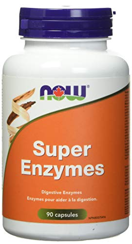 NOW Super Enzymes 90 Capsules, 90 g