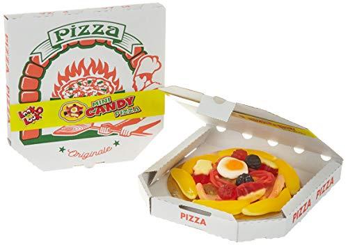 Look O Look Mini Candy Pizza aus Fruchtgummi | 18 Minipizzas für die süße Party | 18er Pack (18 x 85 g)