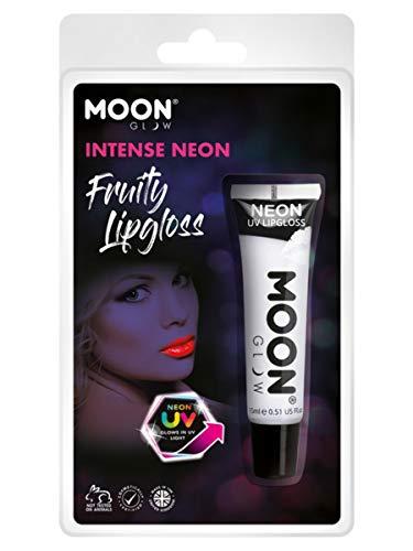 Smiffys Moon Glow Intense Neon UV Fruity Lipgloss White