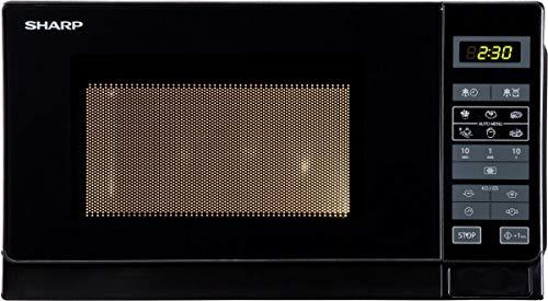 SHARP R-742BKW - Grill met micropijn - Noir - 25L - 900 W - Grill 1000 W - Pose libre