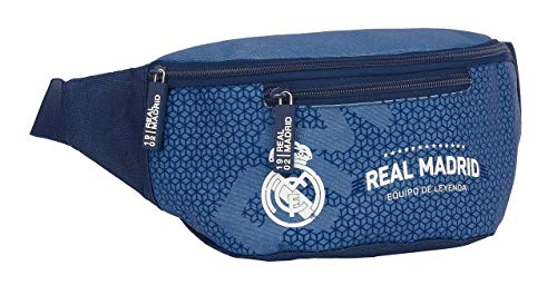 safta 812124446 Riñonera Real Madrid CF, Azul