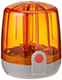 Rolly Toys Rundumleuchte Flashlight (Blinklicht; hohe Helligkeit; LED Technologie; + Montageplatte; Orange) 409556
