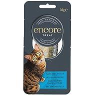 Encore 100% Natural Wet Cat Food, Pouch Treat, Mackerel Fillet Loin, 30g (Pack of 12)