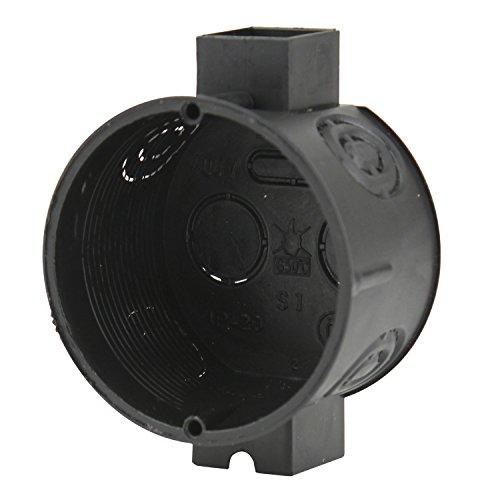 Sonstige 40909L UP-Schalterdose 40mm sw, schwarz