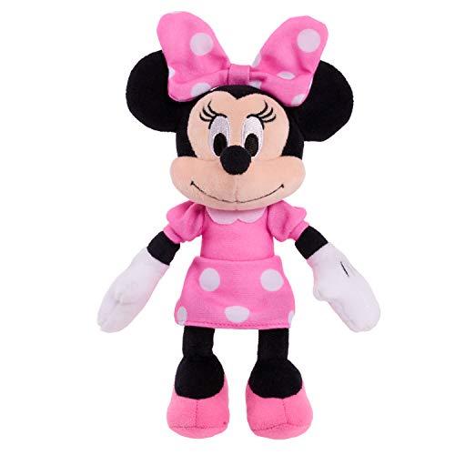 Minnie Mouse Clásico Frijol Felpa – Today'S Minnie en Vestido Rosa