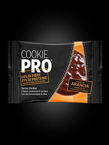 Galleta Cookie Pro Naranja Amarga Cubierta de Chocolate Negro Alevo 13,6 g
