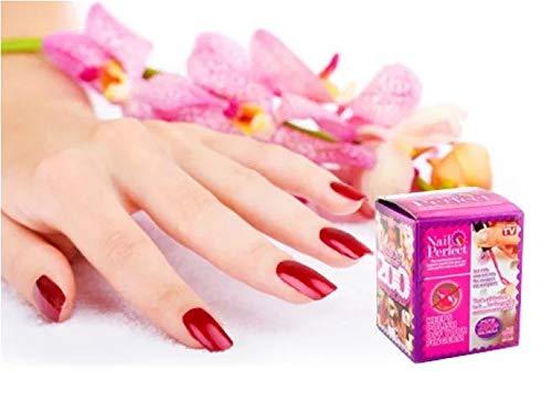 VZOM Nail Design Studio, Aufbewahrungsfach für Nagelkunstwerkzeuge mit Gelflaschenhalter und Anti-Spill-Nagelkunstständer, großartige Unterstützung für Nagelstudio und Heim-DIY-Nagelkunst.