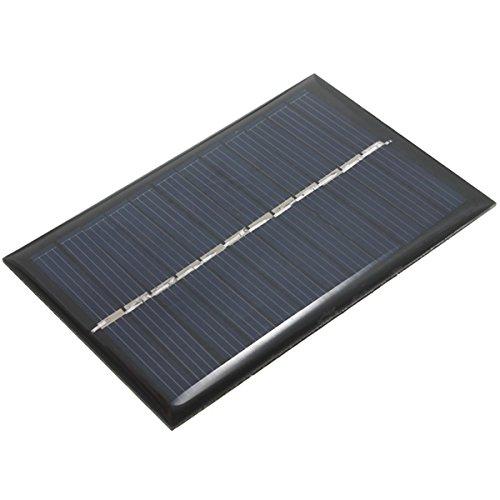 BouBou 6V 100Ma 0.6W Panel Solar Fotovoltaico Policristalino Mini Panel Epoxi