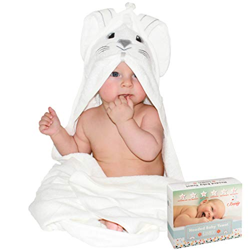 Bapify Bamboo Hooded Baby Towel