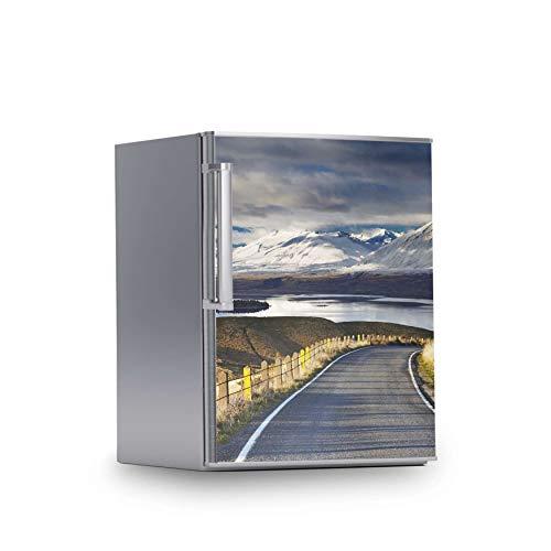 creatisto Kühlschrank Möbelfolie I Dekoraufkleber für Kühlschrankfront - Bedruckte Klebe-Folie abwaschbar I Klebefolie Küche - Design: New Zealand