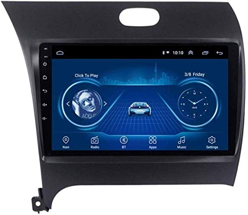 Android 8.1 Radio de navegación, 1 g (2 g) / GPS 16g (32g) Radio Media Player 9 Pulgadas de navegación inalámbrica Bluetooth para Kia K3 2013-2016,4G + WiFi, 2 + 32G
