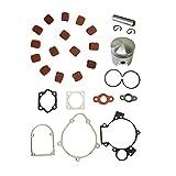 NAVARME The Piston Set & Cluth Pads& Gasket Set For 66cc 80cc Motorized Bike