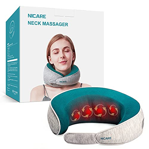 Neck Massager, Shiatsu Neck Massager with Heat for Neck Pain Relief, Massagers for Neck and Back...