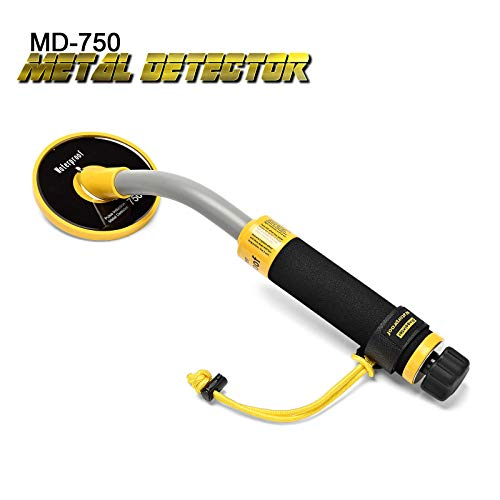 SHUOGOU 750 Underwater Metal Detector with Vibration and LCD Detection Indicator - PI Waterproof Probe Pulse Induction Technology Metal Detector Handheld Targeting Pinpointer