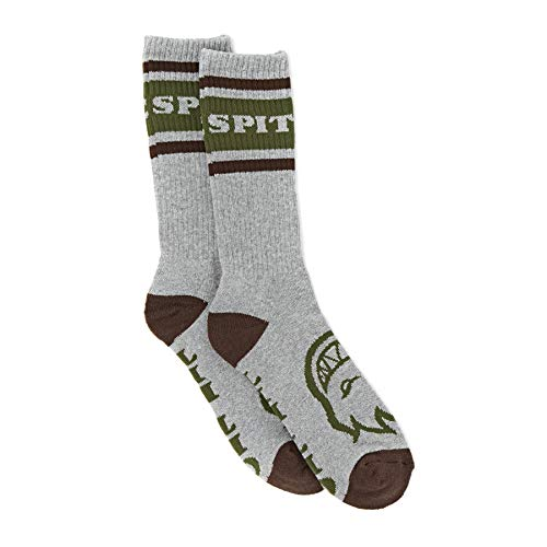 Spitfire Og Classic Sports Socks One Size Heather Grey/Brown/d.Army