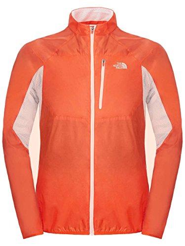The North Face GTD - Chubasquero para Hombre, Color Naranja, Talla M