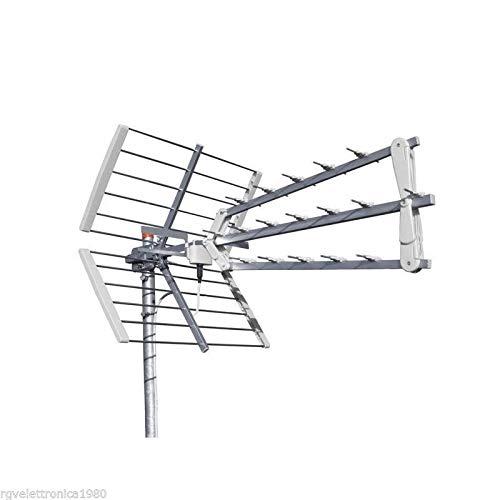 ANTENNA DIGITALE TERRESTRE LTE TRIO 3D OFFEL TRIPLA UHF 17dB 21-505B