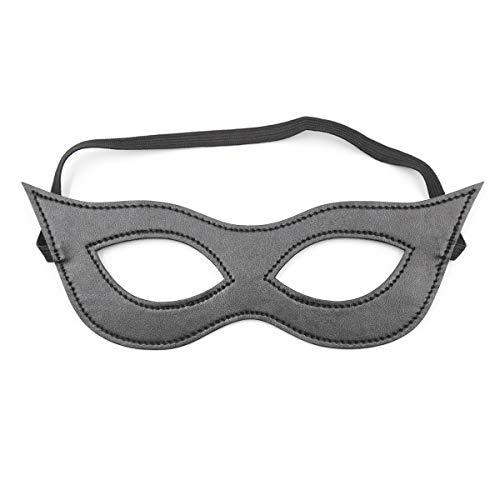 Angela winkels Fun Eye masker Stage Performance Props masker gezicht Elastische Band Open Eye masker Paar Speelgoed Zwart