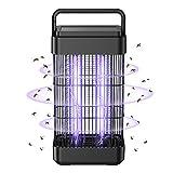 Exatfina Lampada Zanzare,14W Lampada Antizanzare con Luce UV Zanzariera Elettrica per Casa Giardino Interno...