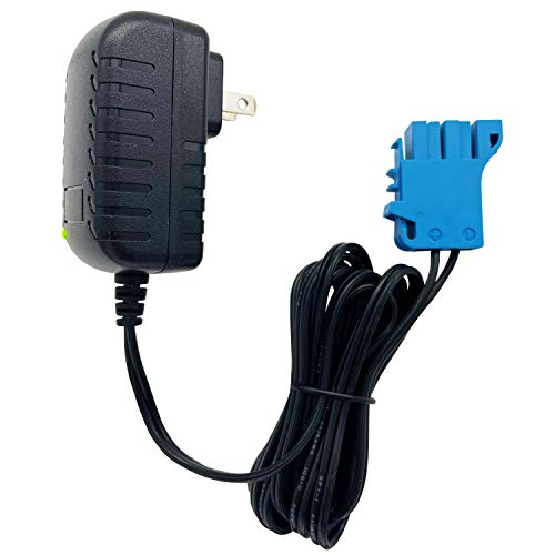 12-Volt Charger for Peg Perego Battery,12V Charger for Peg Perego Kids Ride On Toy Cars.