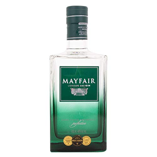 Mayfair London Dry Gin 40,00% 0,70 Liter