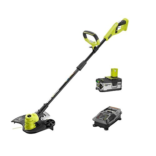 Ryobi ZRP2080 ONE+ 18-Volt Lithium-Ion Cordless String Trimmer/Edger Kit (Renewed)