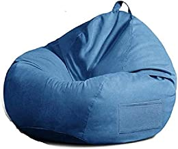 Living Room Furniture Beanbag Chair Outdoor Indoor Living Room BeanBag Seat Ergonomic Design for Body Support | Durable Co...