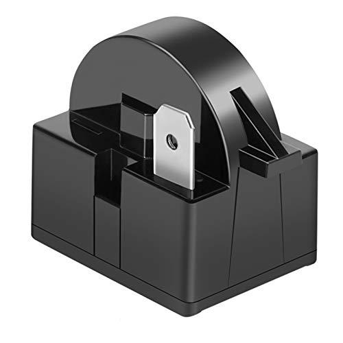 YGDZ 1 PCS QP2-4R7 4.7 Ohm 1 Pin Refrigerator PTC Starter Relay Black