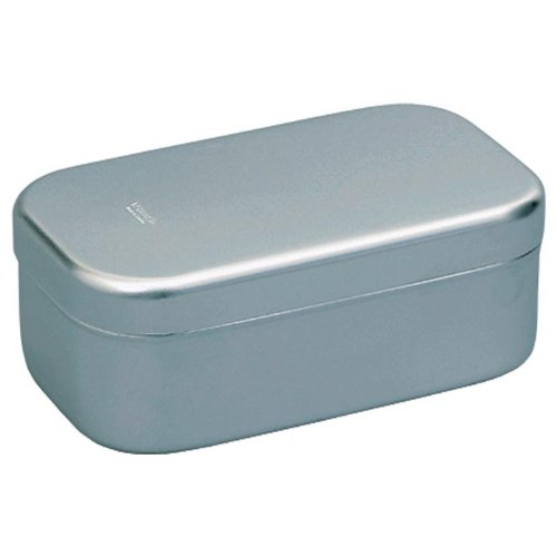 Trangia Bento Box Aluminium Tin (7.8 x 5.1 x 2.8-Inch)