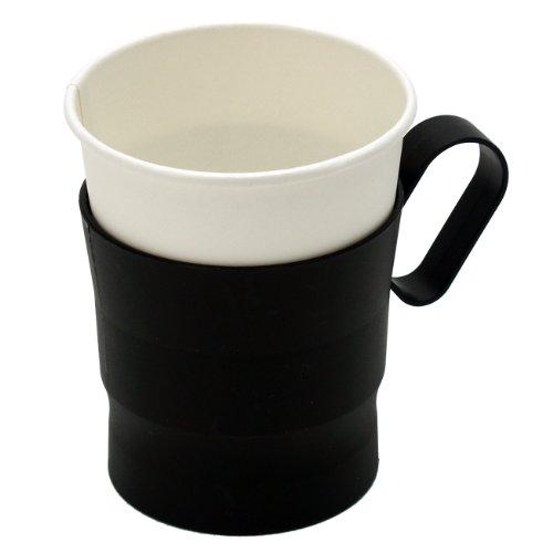 ストリックスデザインカップホルダー7オンス~9オンス対応5PブラックDR-453