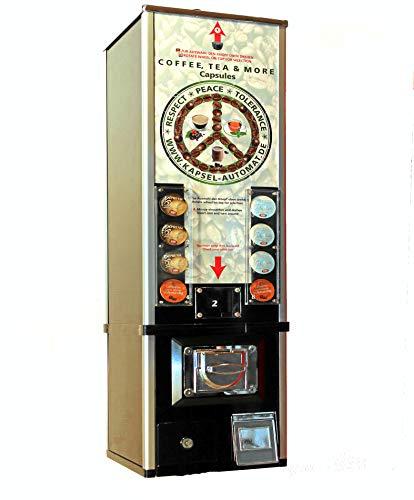 Máquina de venta para cápsulas de café, monedero, máquina automática para cafetera (M2: como Cafissimo).
